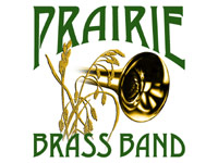Prairie Brass Band logo