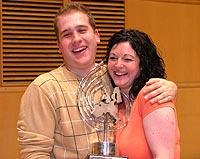 Stuart Lingard and Sheona White