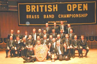 British Open Champions 2003 - YBS