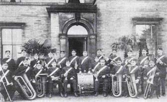 Brighouse and Rastrick Temperance Band 1902