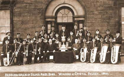Hebburn Colliery Silver Prize Band