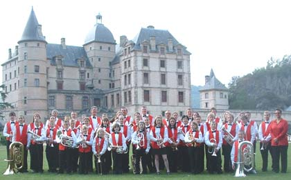 Astley Youth Band on Tour in France