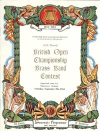 1964 British Open programme cover