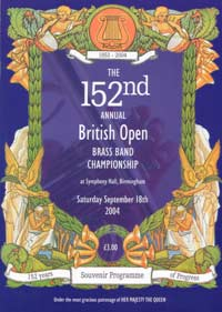 2004 British Open programme cover