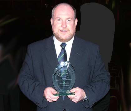 Peter Roberts of YBS - Best instrumentalist