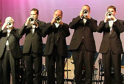 Fountain City Brass Band: 'Tallis Prelude' - Cornet section