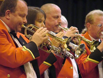 Reg Vardy: Cornet section