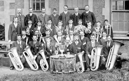 Nantlle Vale Royal Silver Band 1907