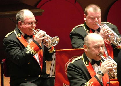 Black Dyke: Cornet section