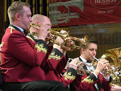 Tredegar: Cornet section