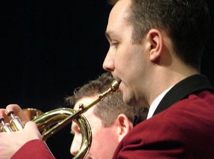 Whitburn Band: Flugel - Jim Chamberlain