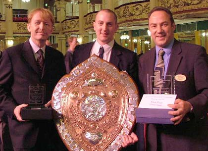 Hepworth Band: Grand Shield winners 2005
