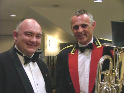 James Morrison with John French