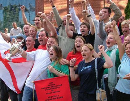 Jersey Premier Brass celebrate
