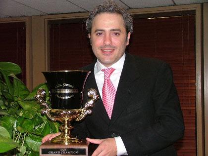 Winning MD Michael J Garasi