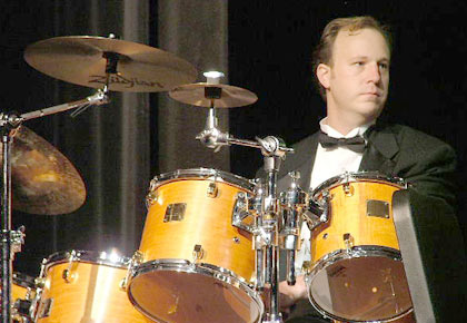 Prairie percussionist Clark Niermeyer
