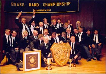 Black Dyke - Winners 2005 British Open