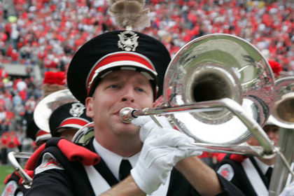 OSUMB bass tronbone player