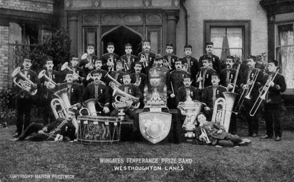 Wingates Temperance Prize Band