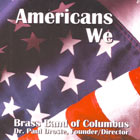 CD cover - Americans We