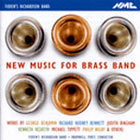 CD cover - New Music for Brass Band