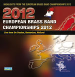 CD cover - Highlights of the 2012 European Brass Band Championships