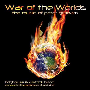 CD cover - War of the Worlds