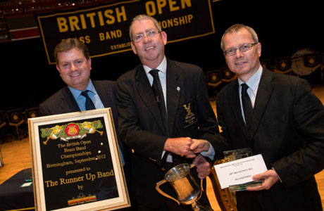 Runner up Black Dyke