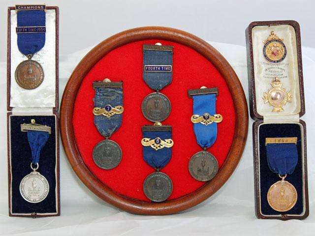 Arthur Webbs medals