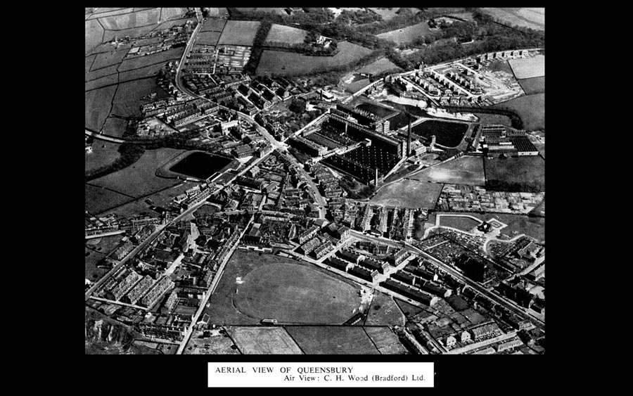 Black Dyke Mills - Aerial Photography
