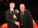 Foden's receive the Wright & Round Award for Best Instrumentalist