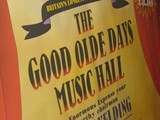 Winter Gardens - Traditional Music Hall Poster