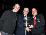Championship Section: Reg Vardy (Russell Gray) Dan Knott & Colin Dixon receive best bass section from Doug Cairns