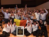 Premier Youth Section: 1st - Young Brass Band Willebroek (Frans Violet)