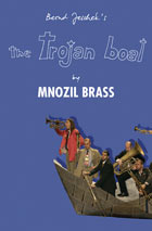 DVD cover: Mnozil Brass - The Trojan Boat